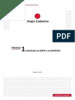 Módulo 1 - Introdução ao SIAPE e ao SIAPECAD