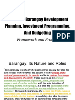 Enhanced BDP, Investment & Budgeting