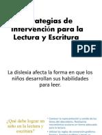 ESTRATEGIAS PARA TRABAJAR LECTO ESCRITURA