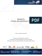 Projeto - Túnel de Desinfecção (Guaraves Alimentos)