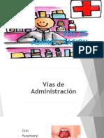 PRESENTACION VIAS DE ADMINISTRACION