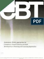 CBT Assessment Models
