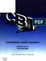 CBT HOW TO DO IT - FOR TRAINERS