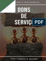 DONS DE SERVIÇO