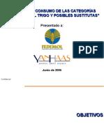 HÁBITOS DE CONSUMO DE LAS CATEGORÍAS DERIVADAS DEL TRIGO Y POSIBLES SUSTITUTAS.ppt