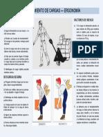 CHARLA DE SEG. N°3. Levantamiento de cargas - ergonomía
