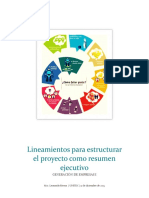 Lineamientos de Informe Final de Generacion de Empresas I