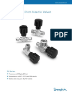 Needle Valves D Series (MS-01-42) Rev 3