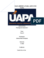 tarea III de Psicologia del desarrollo II- Albania Hilario