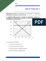 Hojas de Trabajo 2 y 3 Proceso de Mercado oferta y demanda.docx