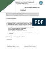 Formatos de Informes, Convocatorias, Actas de Compromiso