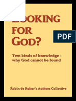 Looking for God_ Two kinds of knowledge, why God cannot be found - Robin de Ruiter