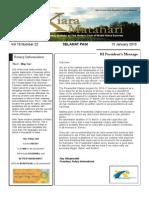 RCBKS Bulletin Vol 19 No 22