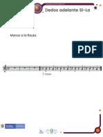 Contenido en PDF - Dedos adelante Si La  - Viajeros del Pentagrama.pdf