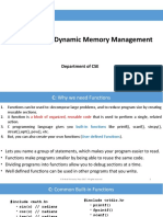 1.3 Functions and memory allocation