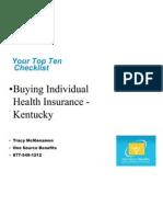 Individual Health Insurance Kentucky
