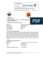MSDS Caustic Soda