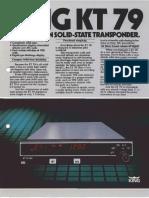 KT 79 Pilot's manual