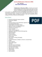 International Journal on Bioinformatics &Biosciences (IJBB)