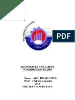 DHCP Server - Windows-2003-Server