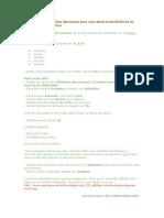 Comment créer une liste déroulante dans une cellule d.doc