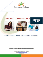 CHCLEG001 Student Assessment Booklet (ID 98960).docx