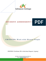 CHCDIV001 Student Assessment Booklet - AGE (ID 99496).docx