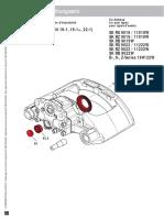 3 434 3829 00 Führungssatz Dichtungssatz_Guide kit Seal kit_Ensemble de guidage Ensemble d´étanc