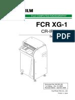 Fujifilm - Fcr Xg-1 Service Manual