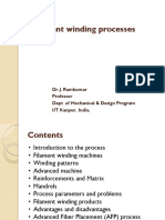 9. Filament winding