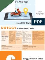 Swiggy - Hyperlocal