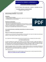 Taller integrado de lenguaje N°2 del 30 de junio al 8 de julio de 2020, grado 3° (1)