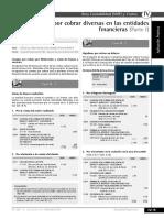 Cuentas Por Cobrar Diversas en Las Entidades Financieras (Parte 1)