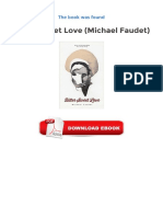 Bitter Sweet Love Michael Faudet Ebook Free Download