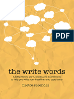 The Write Words - 6,500 Phrases, Puns, Idioms and Expressions to Help You