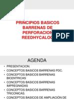 PRINCIPIOS BASICOS BARRENAS