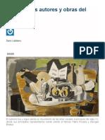 6 principales autores y obras del cubismo