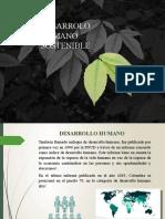 Desarrollo Humano Sostenible