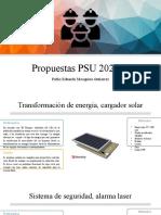 Propuestas PSU 2020-II