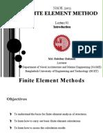 Finite Element Method - Lecture 1