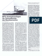 MTU Antriebsanlagen der Bundesmarine