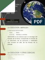 Geoaplicada 1.1 Introducción Amolalla 20 20