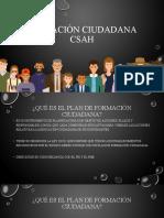 PPT Formación ciudadana