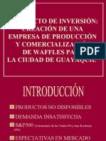 Plan de negocios Wafler