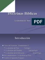 Doctrinas Bíblicas-Dios.ppt