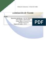 Eliminación de Crédito - 1387011
