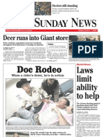 Front -- York Daily Record/Sunday News, Jan. 16, 2011