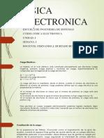FISICA ELECTRONICA SEMANA I