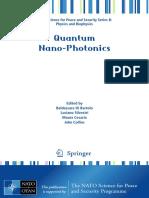 [NATO Science for Peace and Security Series B_ Physics and Biophysics] Baldassare Di Bartolo, Luciano Silvestri, Maura Cesaria, John Collins - Quantum Nano-Photonics (2018, Springer Netherlands) - libgen.lc