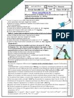 Controle 1 . 2 S2 TC 19 - 20 (Www.AdrarPhysic.Fr)
